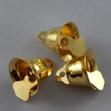 HOT SALE 14MM Gold Metal Craft Bell Christmas Jingle Bell Craft Bells Decor 10pc
