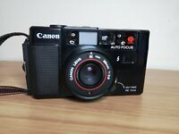 CANON JAPAN AF35M 1:2.8 FILM Camera 35mm With Case PARTS ONLY FAULTY