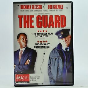 The Guard Brendan Gleeson Don Cheadle DVD Good Condition Free Tracked Post