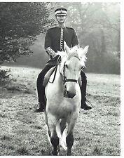 Simon Ward Actor Young Winston on Horseback Vintage Portrait Photograph 10 x 8
