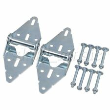 2pcs Heavy Duty Garage Door Hinges Replacement 1# Hinge With Bolt & Nut