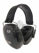 Howard Leight Earmuff L2F Leightning FOLDING Premium Safety Protect Tool Class 5