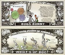 Bugs Bunny - Looney Tunes Character Million Dollar Novelty Money