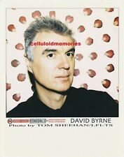 Original Photo David Byrne of Talking Heads