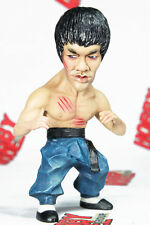 THE KUNG FU MASTER DRAGON FUNNY PAINTED DEFORMED SD RESIN MODEL FIGURE