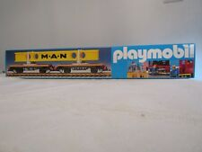 Playmobil Train  4109 Swiveling Bolster Car With Man Carrier  LGB  g-Scale