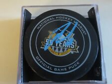 PITTSBURGH PENGUINS PHIL KESSEL SIGNED OFFICIAL GAME PUCK