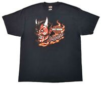 Harley Davidson Temptation Devil Tee Black Size XL Mens T Shirt Miami Florida
