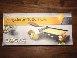 Boska Partyclette ToGo Taste Cheese Raclette Holland New