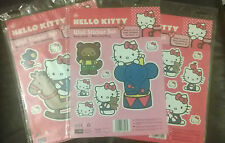 Hello KITTY décoration murale stickers, enfants chambres / lit / tête de lit / garde-robe. 3 designs