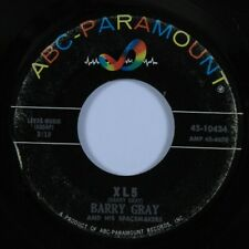 Instrumental Mod Exotica 45 BARRY GRAY XL5 ABC-PARAMOUNT HEAR