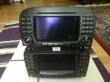 MERCEDES SL COMAND,COMMAND HEADUNIT REPLACE/NEW-LCD : 2005-2008 / $300