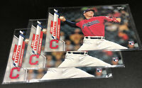 2020 Topps Series 2 Base #380 James Karinchak RC - Cleveland Indians Lot Of 3