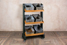 SHOP DISPLAY STAND RESTAURANT BAR SNACK TROLLEY MADE TO ORDER DRINKS TROLLEY
