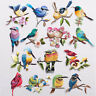 New Bird Embroidery Sew On / Iron On Patch Badge Bag Hat Jeans Dress Applique