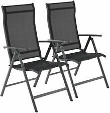 Gartenstühle 2er Set Alu Klappstühle Terrassenstühle verstellbar Stühle bis150kg