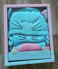 The Owl and The Pussy Cat cat hat and scarf gift set Age 8-12