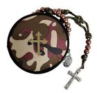 Camouflage Rosary Case D1457