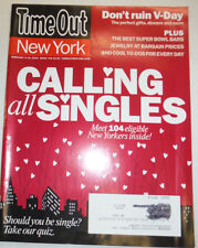 Timeout Magazine Calling All Singles February 2010 010915R