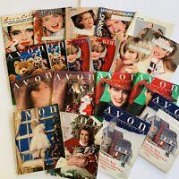 1989 Vintage Avon Catalog Campaign Books Lot of 20