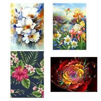 5D DIY Full Drill Diamond Painting Flower Cross Stitch Embroidery Kits Home Art