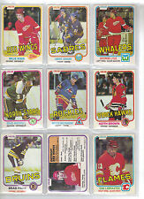 Lot of 20 Different 81-82 OPC O-Pee-Chee Cards **U-Pick** Complete Your Set