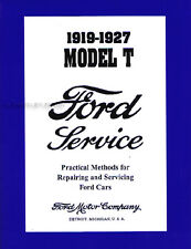 Ford Model T Shop Service Manual 1927 1926 1925 1924 1923 1922 1921 1920 1919