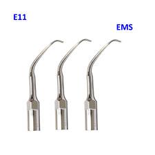 3 PCS Dental Scaler Ultrasonic Endodontic Tips E11 Fit Woodpecker EMSHandpiece