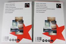 2x 5 Star A4 100 Blatt Inkjet-Papier 165 g/m² mattes Photopapier P3-91