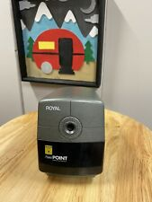 Royal Power Point Electric Pencil Sharpener With Auto Stop Office School Home