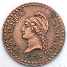 France Un centime Dupré 1848 A cuivre #1106
