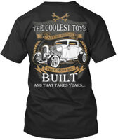 Coolest Toys Cant Be Built Hot Rods - Not Rodder The Can't Premium Tee T-Shirt