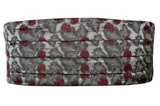 Cravates, nœuds papillon et foulards gris en polyester pour homme