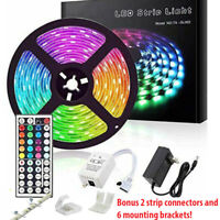 Led Strip Lights 16.4ft RGB Led Room Lights 5050 Led Tape Lights Color Changing