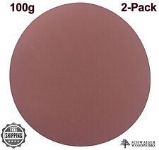 "Klingspor 20"" inch diameter Sanding Disc, 100 grit, 2 pk, Peel & Stick  Germany"