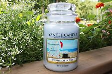 "Yankee Candle - CHRISTMAS IN JULY - 22 oz - COLLECTOR""S LIMITED EDITION - RARE!!"