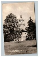 Vintage 1940's Photo Postcard Town Hall Building Ashfield Massachusetts
