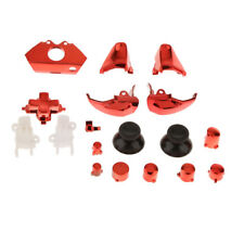 Set of 18 Replacement Controller Buttons Kit Set for Microsoft Xbox One Red