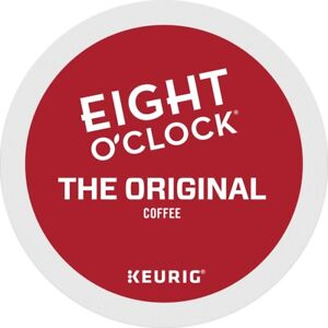 Eight O'Clock The Original Coffee 24 to 144 Count Keurig K cups, Pick Any Size