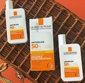 La Roche-Posay Anthelios Shaka NON-PERFUMED Fluid Sunscreen SPF50+, 50ml -FRANCE