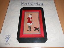 """grille point de croix MIRABILIA NORA CORBETT """"femme et son chien"""" neuve"""