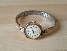 Donna Vintage Anni 1950 .375 9ct ORO A CARICA MANUALE Rolex Tudor orologio da polso
