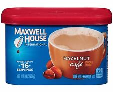 1 Maxwell House HAZELNUT CAFE Coffee Creamer Drink Mix Beverage Mix