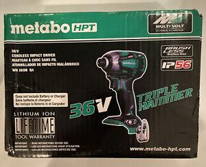Metabo HPT 36v Triple Hammer Impact Driver WH36DB MultiVolt Hitachi NEW