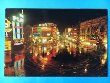Alte Postkarte Piccadilly at Night - London