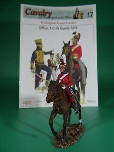 Del Prado Cavalry Napoleonic  War Trooper, 1st Life Guards (#17) w/Osprey Book