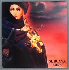 """Disco 12"""" 33 Giri - Mina - Si, buana - PDU - 1986 - doppio LP - con foto -  EX"""