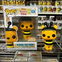 "Funko Pop Disney Box Lunch Exclusive : Winnie the Pooh Bee #1034 Vinyl ""MINT"""