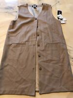 Sag Harbor Tan Dress Size 16 New Tags Wool