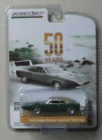 1969 Dodge Charger Daytona Mod Top 50th ANNIVERSARY GREENLIGHT DIECAST 1:64 CAR